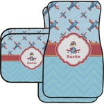 Airplane Theme Car Floor Mats (Personalized)