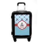 Airplane Theme Carry On Hard Shell Suitcase (Personalized)