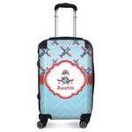 Airplane Theme Suitcase (Personalized)