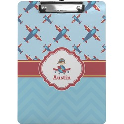 Airplane Theme Clipboard (Personalized)