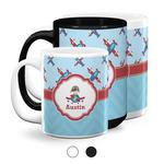 Airplane Theme Coffee Mugs (Personalized)