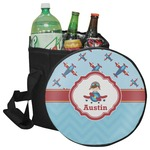 Airplane Theme Collapsible Cooler & Seat (Personalized)