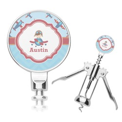 Airplane Theme Corkscrew (Personalized)