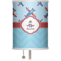 "Airplane Theme 7"" Drum Lamp Shade (Personalized)"