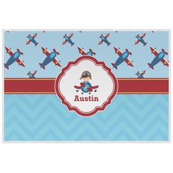 Airplane Theme Laminated Placemat w/ Name or Text