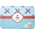 Airplane Theme Dish Drying Mat (Personalized)