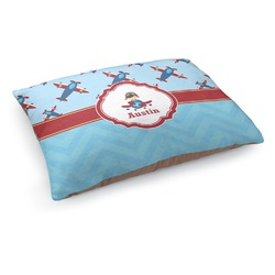 Airplane Theme Dog Bed (Personalized)