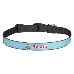 Airplane Theme Dog Collar - Multiple Sizes (Personalized)