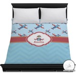 Airplane Theme Duvet Cover (Personalized)