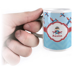 Airplane Theme Espresso Mug - 3 oz (Personalized)