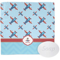 Airplane Theme Wash Cloth (Personalized)