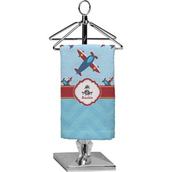 Airplane Theme Finger Tip Towel - Full Print (Personalized)