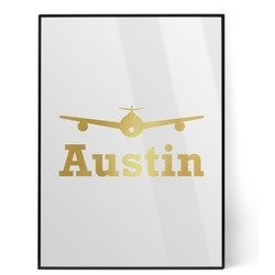 Airplane Theme Foil Print (Personalized)