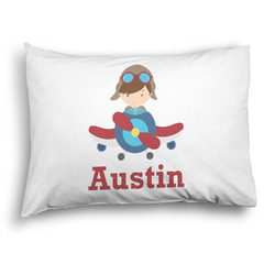 Airplane Theme Pillow Case - Standard - Graphic (Personalized)