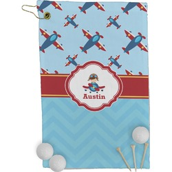 Airplane Theme Golf Towel - Full Print (Personalized)