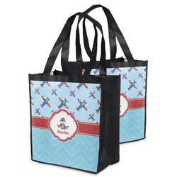 Airplane Theme Grocery Bag (Personalized)
