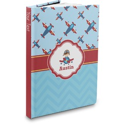Airplane Theme Hardbound Journal (Personalized)