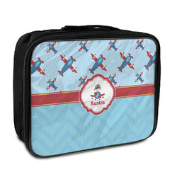 Airplane Theme Insulated Lunch Bag (Personalized)