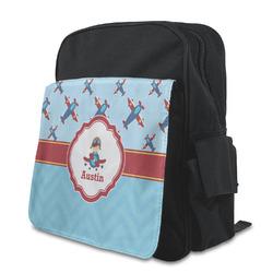 Airplane Theme Preschool Backpack (Personalized)