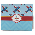 Airplane Theme Kitchen Towel - Full Print (Personalized)