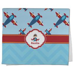 Airplane Theme Kitchen Towel - Full Print (Personalized)