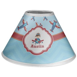 Airplane Theme Coolie Lamp Shade (Personalized)