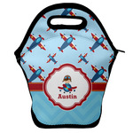 Airplane Theme Lunch Bag w/ Name or Text