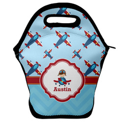 Airplane Theme Lunch Bag (Personalized)