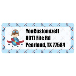 Airplane Theme Return Address Labels (Personalized)