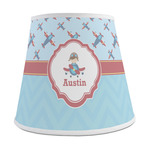 Airplane Theme Empire Lamp Shade (Personalized)