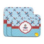 Airplane Theme Memory Foam Bath Mat (Personalized)