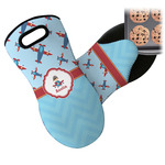 Airplane Theme Neoprene Oven Mitt (Personalized)