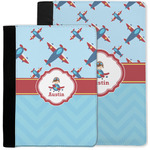 Airplane Theme Notebook Padfolio w/ Name or Text
