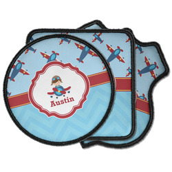Airplane Theme Iron on Patches (Personalized)