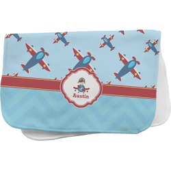 Airplane Theme Burp Cloth (Personalized)