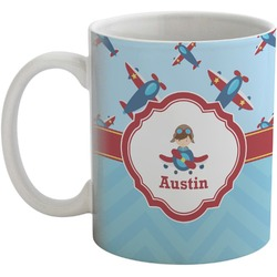 Airplane Theme Coffee Mug (Personalized)