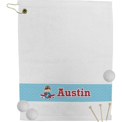 Airplane Theme Golf Towel (Personalized)