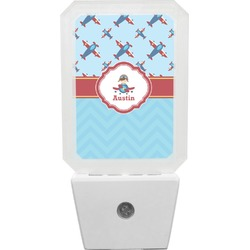 Airplane Theme Night Light (Personalized)