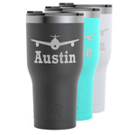 Airplane Theme RTIC Tumbler - 30 oz (Personalized)