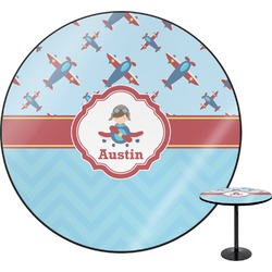 Airplane Theme Round Table (Personalized)