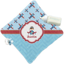Airplane Theme Security Blanket (Personalized)