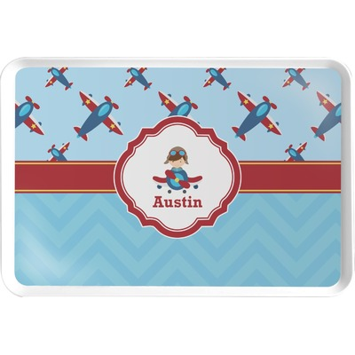 Airplane Theme Serving Tray (Personalized)