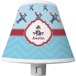 Airplane Theme Shade Night Light (Personalized)