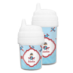 Airplane Theme Sippy Cup (Personalized)