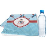 Airplane Theme Sports & Fitness Towel (Personalized)