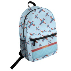 Airplane Theme Student Backpack (Personalized)