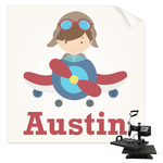 Airplane Theme Sublimation Transfer (Personalized)