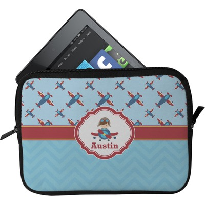 Airplane Theme Tablet Case / Sleeve (Personalized)