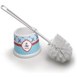 Airplane Theme Toilet Brush (Personalized)