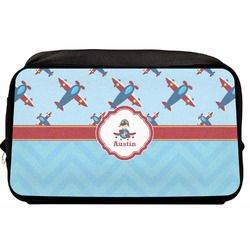 Airplane Theme Toiletry Bag / Dopp Kit (Personalized)